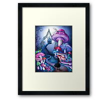Alice Gates to Wonderland Framed Print