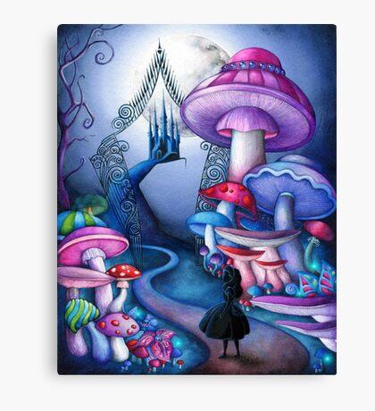 Alice Gates to Wonderland Canvas Print