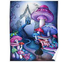 Alice Gates to Wonderland Poster