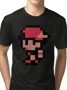 pokemon ash (no outline) Tri-blend T-Shirt