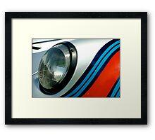 Racing stripes Framed Print