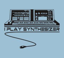 I Play Synthesizer Kids Clothes