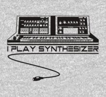 I Play Synthesizer T-Shirt