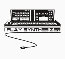 I Play Synthesizer Baby Tee