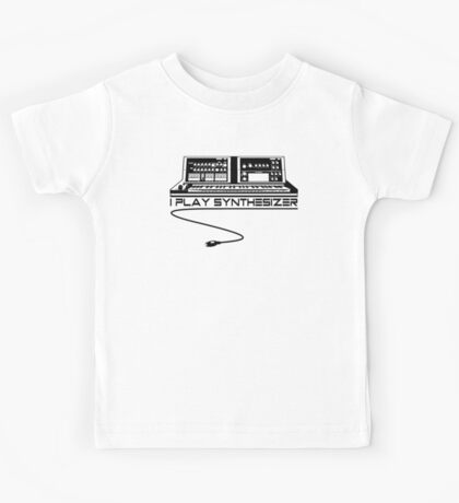 I Play Synthesizer Kids Tee