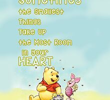 Winnie The Pooh - Lovely Quote by Mellark90