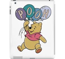 Winnie the Pooh with Balloons iPad Case/Skin