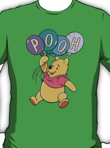 Winnie the Pooh with Balloons T-Shirt