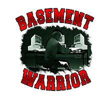 Basement Mastermind 'Basement Warrior' Photographic Print