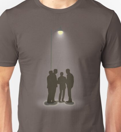Four Guys Under A Streelamp Unisex T-Shirt