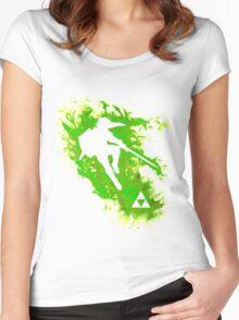 Link Spirit Women's Fitted Scoop T-Shirt