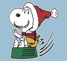 Snoopy Santa Christmas Kids Clothes