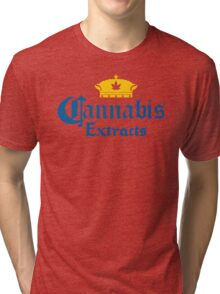Cannabis Extracts Tri-blend T-Shirt