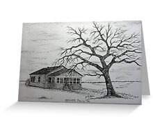 Family Tree Gift Idea Greeting Card