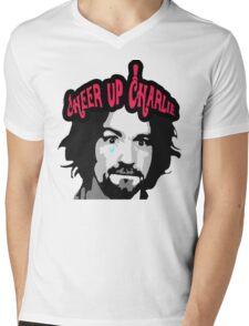 Cheer Up, Charlie!   Mens V-Neck T-Shirt