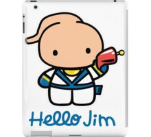 Hello Jim iPad Case/Skin