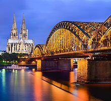 Cathedral of Cologne, Germany by Michael Abid