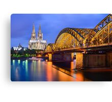 Cathedral of Cologne, Germany Canvas Print
