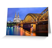 Cathedral of Cologne, Germany Greeting Card