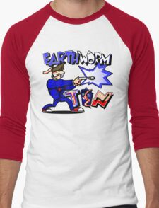Earthworm Ten Men's Baseball ¾ T-Shirt