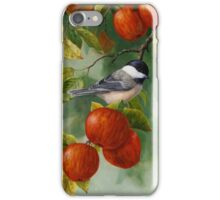 Chickadee and Apples Phone Case iPhone Case/Skin