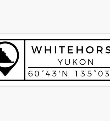Whitehorse Sticker