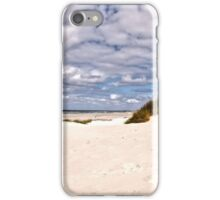 Clouds over the North Sea. iPhone Case/Skin