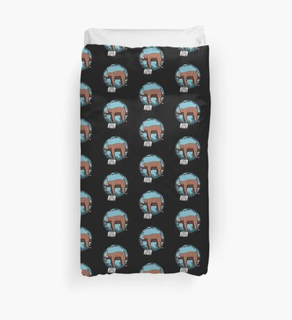 Lazy Song of Sloth Duvet Cover