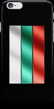 Bulgarian Flag - Bulgaria - Metallic by graphix