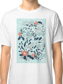 Winter flowers Classic T-Shirt