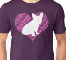 Gifts for French Bulldog Lovers I love French Bulldog Unisex T-Shirt