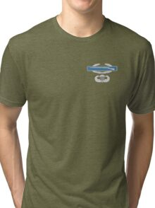 Combat Infantry Badge and Airborne Tri-blend T-Shirt