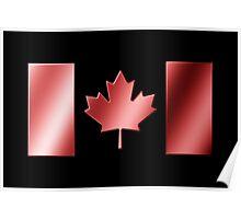 Canadian Flag - Canada - Metallic Poster
