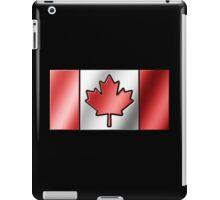 Canadian Flag 2 - Canada - Metallic iPad Case/Skin
