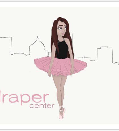 Draper Ballerina in Rochester Sticker