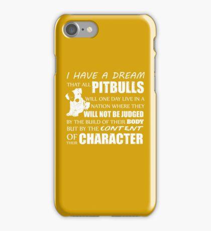 Dream Of Pit Bull iPhone Case/Skin