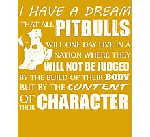 Dream Of Pit Bull Photographic Print