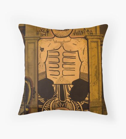 Shadow Boxer Throw Pillow