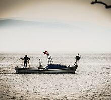 Turkish Fisherman on the Sea by SuzannemorriS