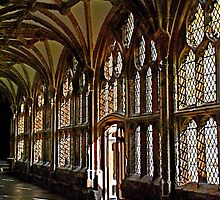 Cloisters at Wells Cathedral by Photography by Mathilde