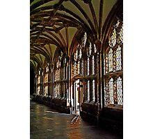 Cloisters at Wells Cathedral Photographic Print