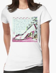 Made for Walkin' Womens Fitted T-Shirt