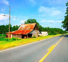 Country Roads In The American South - Georgia Landscape by Mark Tisdale