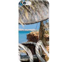 Seaside Tiki Umbrellas iPhone Case/Skin