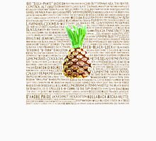 Psych Burton Guster Nicknames - Television Show Pineapple Room Decorative TV Pop Culture Humor Lime Neon Brown T-Shirt