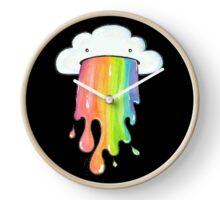 cute rainbow cloud  Clock