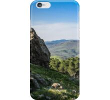 Mountain Top Lake View iPhone Case/Skin