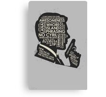 sterling archer  Canvas Print