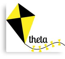 theta kite Canvas Print