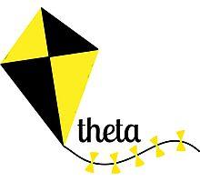 theta kite Photographic Print